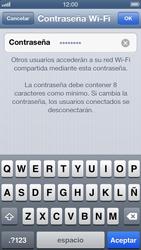 Configura el hotspot móvil - Apple iPhone 5 - Passo 5