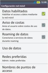 Configura el Internet - Motorola MotoSmart Me  XT303 - Passo 7
