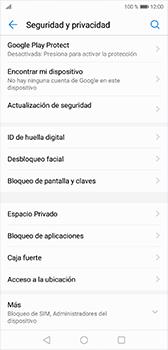 Desbloqueo del equipo por medio del patrón - Huawei P20 - Passo 4