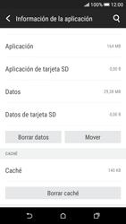 Limpieza de aplicación - HTC Desire 626s - Passo 5