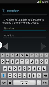 Crea una cuenta - Samsung Galaxy Note Neo III - N7505 - Passo 4