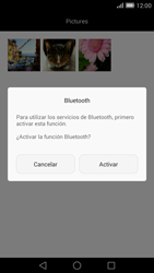 Transferir fotos vía Bluetooth - Huawei Ascend Mate 7 - Passo 9