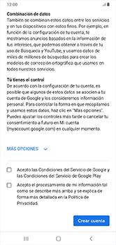 Crea una cuenta - Samsung Galaxy A10 - Passo 13