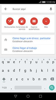 Uso de la navegación GPS - Huawei G8 Rio - Passo 8