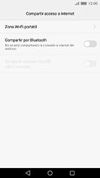 Comparte la conexión de datos con una PC - Huawei Cam Y6 II - Passo 5
