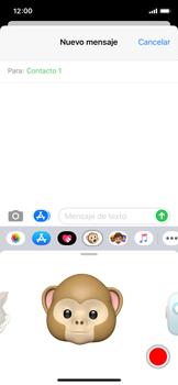 Enviar Animoji - Apple iPhone XS - Passo 11