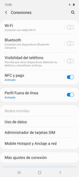 Cómo activar el modo avión - Samsung Galaxy A51 - Passo 5