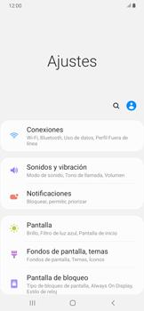 Ajustar el brillo/ Suspensión de pantalla - Samsung Galaxy A30 - Passo 3