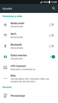 Configura el Internet - HTC U11 - Passo 5