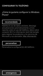 Activa el equipo - Nokia Lumia 1320 - Passo 7