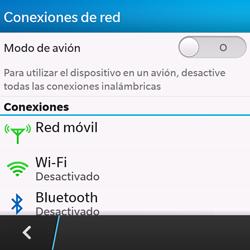 Configura el WiFi - BlackBerry Q10 SQN100 – 1 - Passo 5