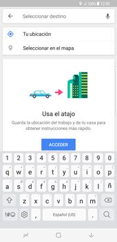 Uso de la navegación GPS - Samsung Galaxy S8+ - Passo 15