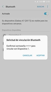 Conecta con otro dispositivo Bluetooth - Samsung Galaxy A7 2017 - A720 - Passo 8
