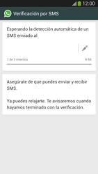 Configuración de Whatsapp - Samsung Galaxy Zoom S4 - C105 - Passo 7