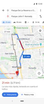 Uso de la navegación GPS - Motorola One Vision (Single SIM) - Passo 12