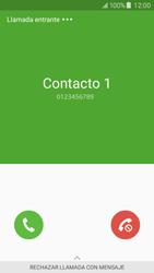Contesta, rechaza o silencia una llamada - Samsung Galaxy J5 - J500F - Passo 3