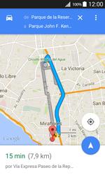 Uso de la navegación GPS - Samsung Galaxy Core Prime - G360 - Passo 16