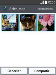 Transferir fotos vía Bluetooth - LG L20 - Passo 7