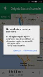 Uso de la navegación GPS - Samsung Galaxy S6 - G920 - Passo 18