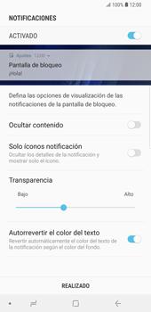 Activa o desactiva el uso del código de seguridad - Samsung Galaxy Note 9 - Passo 10