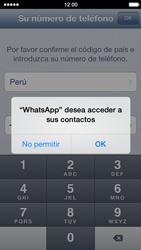 Configuración de Whatsapp - Apple iPhone 5s - Passo 4