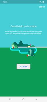 Uso de la navegación GPS - Samsung Galaxy A50 - Passo 5