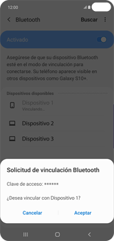 Conecta con otro dispositivo Bluetooth - Samsung S10+ - Passo 8