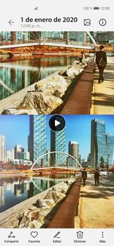 Cómo grabar video con dos vistas - Huawei P40 - Passo 14
