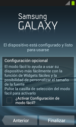 Activa el equipo - Samsung Galaxy Win - I8550 - Passo 17