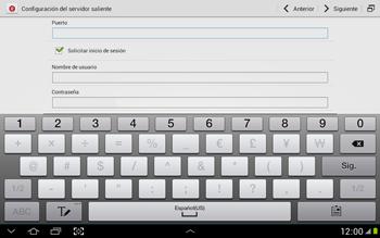 Configura tu correo electrónico - Samsung Galaxy Note 10-1 - N8000 - Passo 15