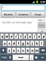 Envía fotos, videos y audio por mensaje de texto - Samsung Galaxy Y  GT - S5360 - Passo 3