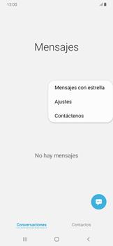 Modo silencio y vibración para mensajes - Samsung Galaxy A30 - Passo 5
