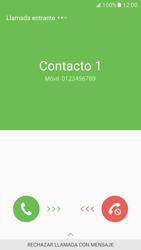 Contesta, rechaza o silencia una llamada - Samsung Galaxy S7 - G930 - Passo 2