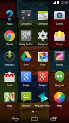 Uso de la navegación GPS - Motorola Moto X (2a Gen) - Passo 3