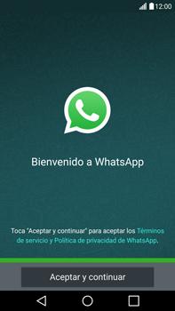 Configuración de Whatsapp - LG V10 - Passo 4