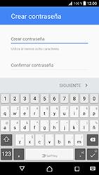 Crea una cuenta - Sony Xperia XZ Premium - Passo 11