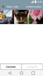 Transferir fotos vía Bluetooth - LG C50 - Passo 6