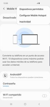 Configura el hotspot móvil - Samsung S10+ - Passo 9