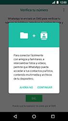 Configuración de Whatsapp - LG K8 (2017) - Passo 5