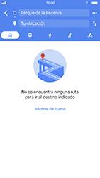 Uso de la navegación GPS - Apple iPhone 7 - Passo 11
