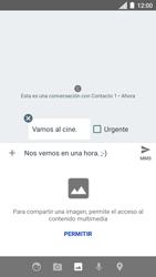 Envía fotos, videos y audio por mensaje de texto - Motorola Moto C - Passo 11