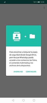 Configuración de Whatsapp - Huawei Mate 20 Lite - Passo 7