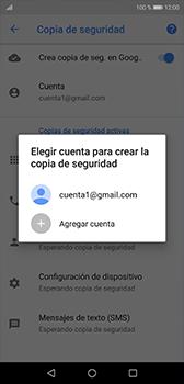 Realiza una copia de seguridad con tu cuenta - Huawei P20 - Passo 10
