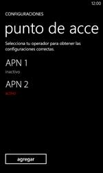 Configura el Internet - Nokia Lumia 620 - Passo 20