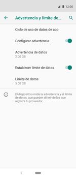 Desactivación límite de datos móviles - Motorola One Vision (Single SIM) - Passo 7