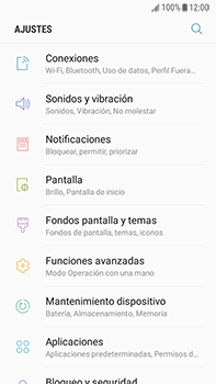 Configura el WiFi - Samsung Galaxy J7 Prime - Passo 4