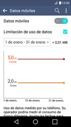 Desactivación límite de datos móviles - LG K4 - Passo 5