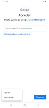 Crea una cuenta - Samsung Galaxy A80 - Passo 5