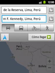 Uso de la navegación GPS - Samsung Galaxy Y  GT - S5360 - Passo 17