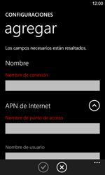Configura el Internet - Nokia Lumia 925 - Passo 10
